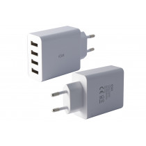 KSIX 4 USB WALL CHARGER 5A...