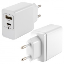 KSIX 2 USB WALL CHARGER 4A...
