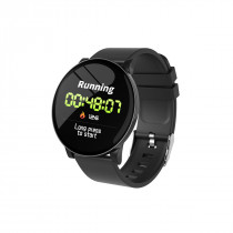 FITNESS BAND ROUND HR BLACK