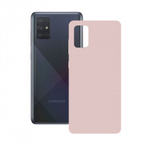 SILK CASE FOR GALAXY A71 PINK
