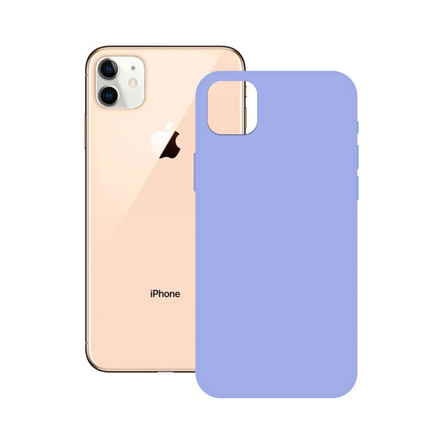SOFT SILICONE CASE KSIX FOR iPhone 12 LAVENDER