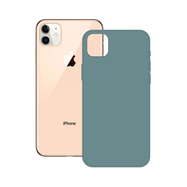 SOFT SILICONE CASE KSIX FOR iPhone 12 MAX, PRO GREEN